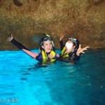 【沖縄一人旅】古宇利島の青い海を眺めながら海ぶどう丼を