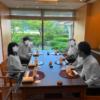 【松山】ANAクラウンプラザホテルの雲海で顔合せ