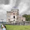 【広島】平和記念公園の原爆ドームへ