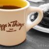Eggs'n Thingsの卵料理とフォンダンショコラパンケーキ